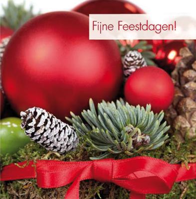 12-kerstkaartjes--Fijne-Feestdagen-(rode-kerstballen)-Art-of-cards-Muller wenskaarten.nl-30